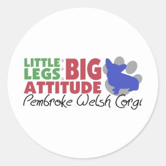 Pembroke Little Legs Stickers