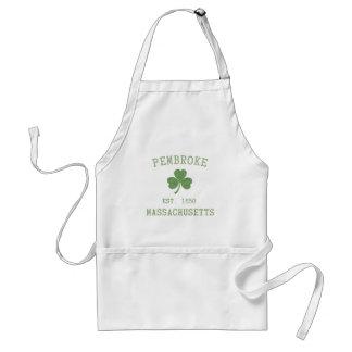 pembroke-massachusetts-irish adult apron