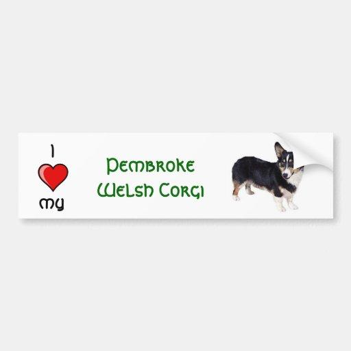 Pembroke Welsh Corge Bumper Stickers