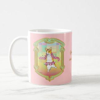 Pembroke Welsh Corgi Ballerina Coffee Mug