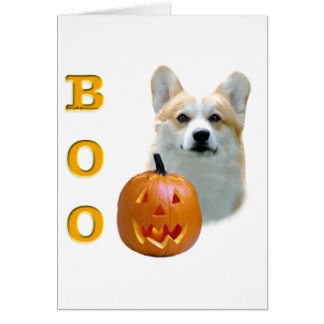 Pembroke Welsh Corgi Boo Card