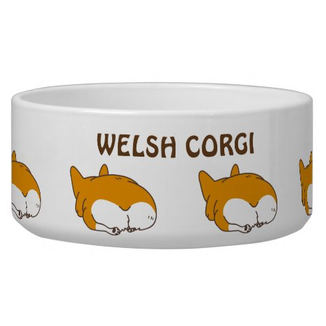 pembroke welsh corgi bowl