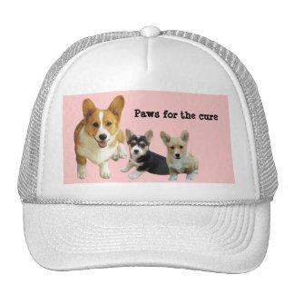 Pembroke Welsh Corgi Breast Cancer Hat