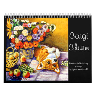 Pembroke Welsh Corgi Calendar Corgi Charm Original