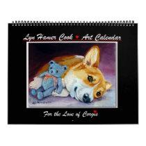 Pembroke Welsh Corgi Calendar Love Corgi
