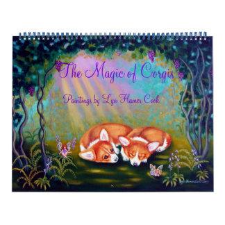 Pembroke Welsh Corgi Calendar The Magic of Corgis
