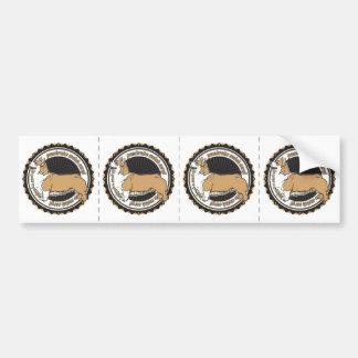 Pembroke Welsh Corgi Car Bumper Sticker