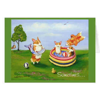 Pembroke Welsh Corgi Cards