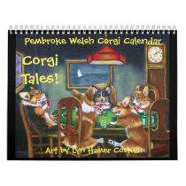 Pembroke Welsh Corgi Corgi Tales Calendar Original