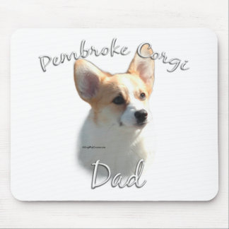 Pembroke Welsh Corgi Dad 2 Mouse Pad