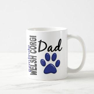 Pembroke Welsh Corgi Dad 2 Coffee Mugs