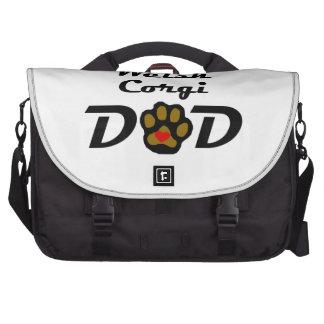 Pembroke Welsh Corgi Dad Bags For Laptop