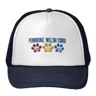 PEMBROKE WELSH CORGI Dad Paw Print 1 Hat