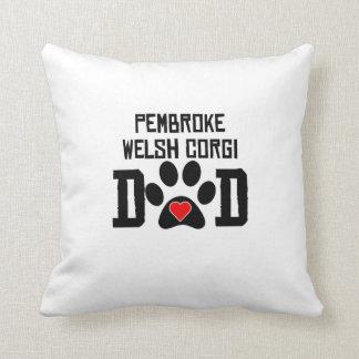 Pembroke Welsh Corgi Dad Pillow