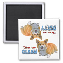 Pembroke Welsh Corgi Dishwasher Magnet