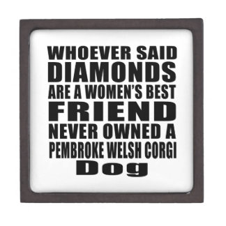 PEMBROKE WELSH CORGI DOG BEST FRIEND DESIGNS JEWELRY BOX