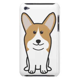 Pembroke Welsh Corgi Dog Cartoon Barely There iPod Covers