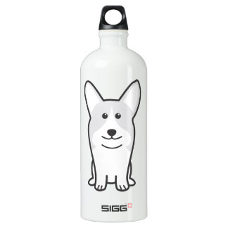 Pembroke Welsh Corgi Dog Cartoon SIGG Traveler 1.0L Water Bottle