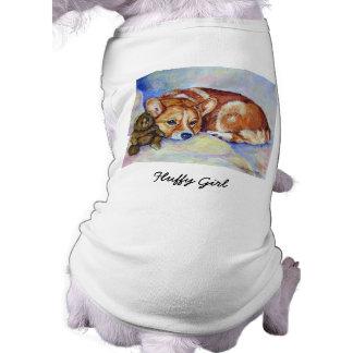 Pembroke Welsh Corgi Dog Sweater Doggie Tee Shirt