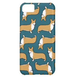 Pembroke Welsh Corgi Dogs Pattern iPhone 5C Case