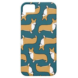 Pembroke Welsh Corgi Dogs Pattern iPhone SE/5/5s Case