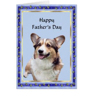 Pembroke Welsh Corgi - Father's Day Card