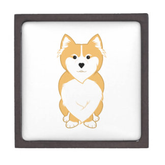 Pembroke Welsh Corgi Gift Box