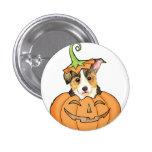 Pembroke Welsh Corgi Halloween Pinback Button