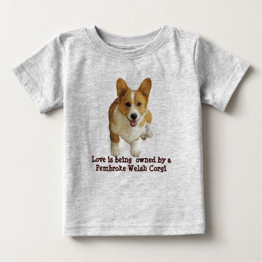 Pembroke Welsh Corgi Happy Toddler Unisex T-Shirt