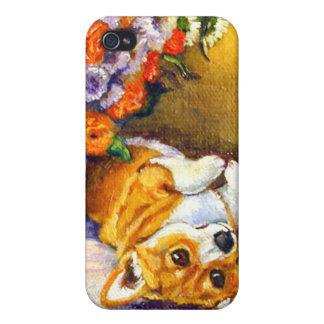 Pembroke Welsh Corgi iPhone Case iPhone 4/4S Case
