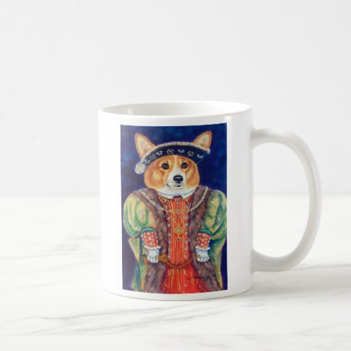 Pembroke Welsh Corgi King Mug
