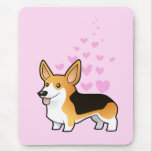 Pembroke Welsh Corgi Love Mouse Pad
