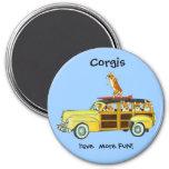 Pembroke Welsh Corgi Magnets