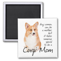 Pembroke Welsh Corgi Mom Magnet