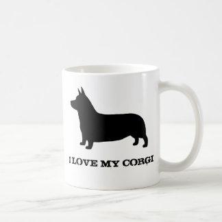 Pembroke Welsh Corgi Classic White Coffee Mug