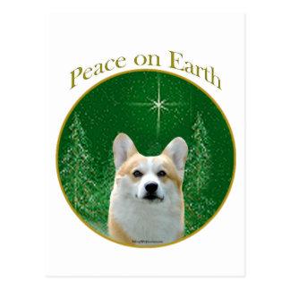 Pembroke Welsh Corgi Peace Postcard