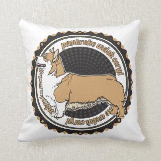 Pembroke Welsh Corgi Pillow