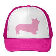 Pembroke Welsh Corgi (pink) Hats
