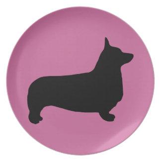 Pembroke Welsh Corgi Plate