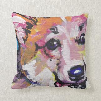 Pembroke Welsh Corgi Pop Art Pillow