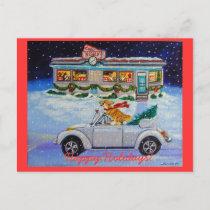 Pembroke Welsh Corgi Postcards