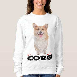 Pembroke Welsh Corgi Puppy Dog Ladies Sweatshirt