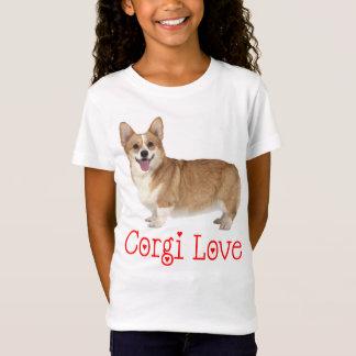 Pembroke Welsh Corgi Puppy Dog Red Love Girls T-Shirt