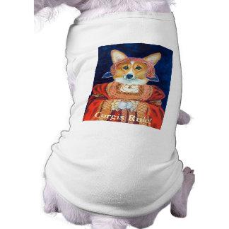 Pembroke Welsh Corgi Queen Sweater Dog Tee Shirt