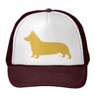 Pembroke Welsh Corgi Silhouette Trucker Hat