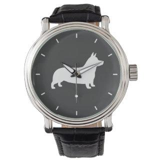 Pembroke Welsh Corgi Silhouette Watches