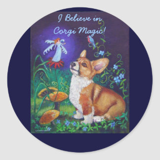 Pembroke Welsh Corgi Stickers