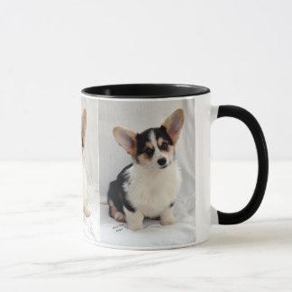 Pembroke Welsh Corgi Tri-Color Puppy On Your Mug