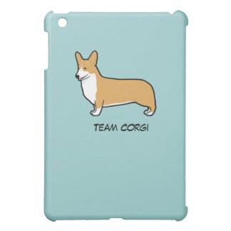 Pembroke Welsh Corgi with Custom Text iPad Mini Case