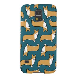 Pembroke Welsh Corgis Pattern Galaxy S5 Case